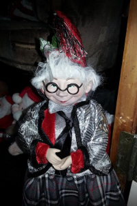 Iris Apfel look alike doll