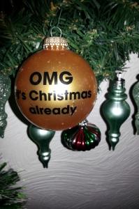 OMG it's Christmas already