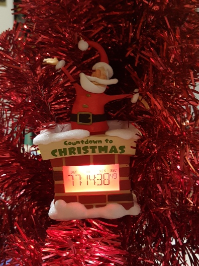 Christmas countdown clock