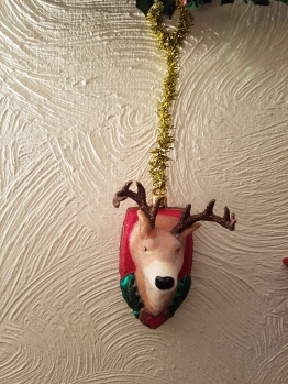 Hanging decoration ... antlers