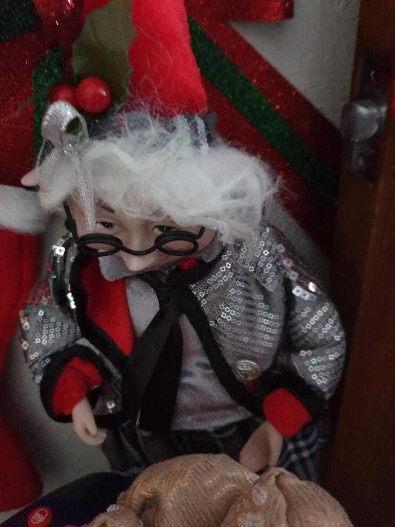 Elf with specs