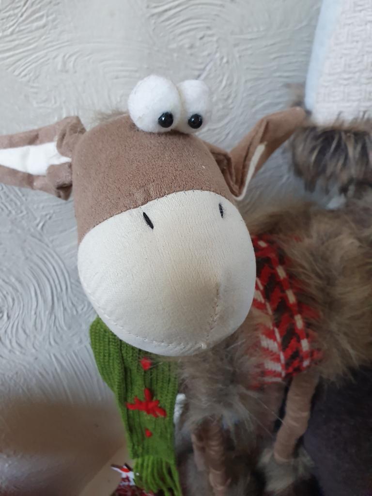 Soft toy donkey